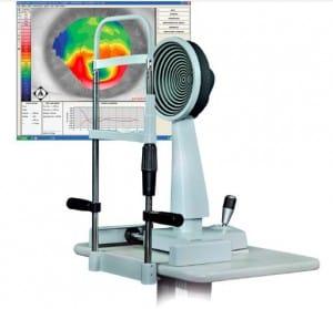טופוגרפר (Topographer) - מכשיר למיפוי קרנית